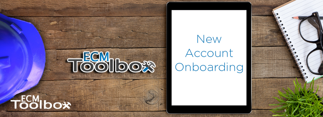 New Account Onboarding