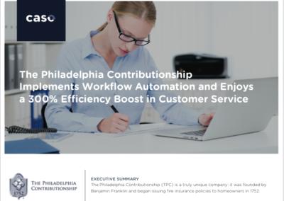 The Philadelphia Contributionship Case Study