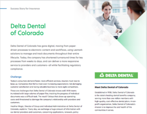Delta Dental, Workflow, Kofax