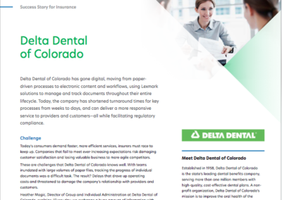 Delta Dental Case Study