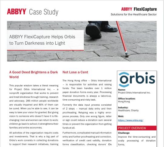 Orbis Case Study