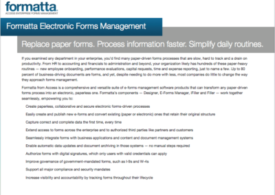 HR Formatta Overview
