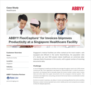 ABBYY, FlexiCapture, Singapore Healthcare