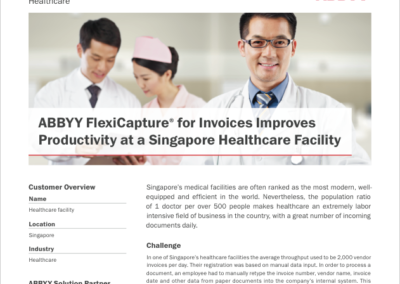 Singapore Healthcare Case Study