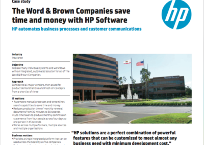 Word & Brown Case Study
