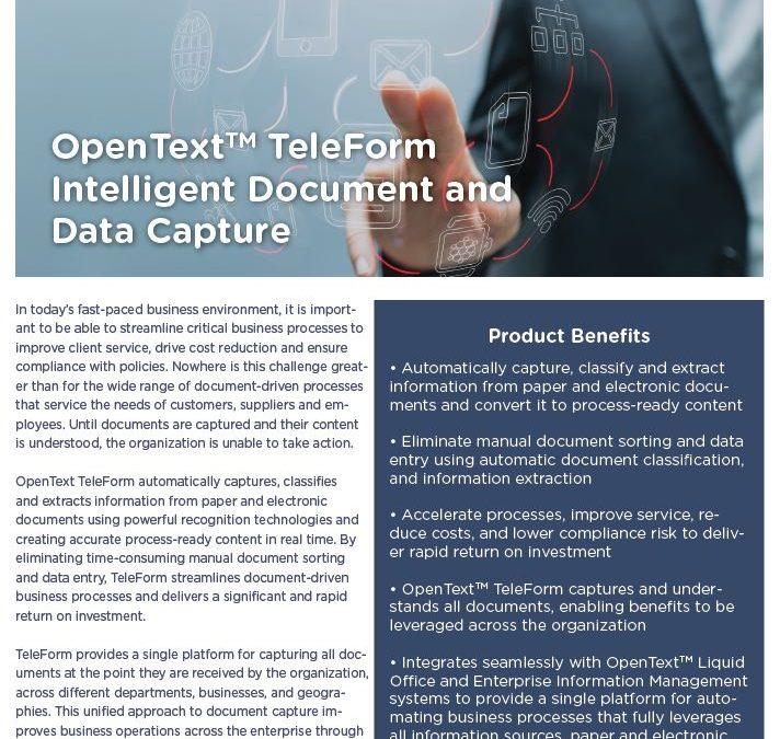 Open Text Teleform