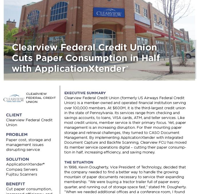 Clearview FCU Case Study