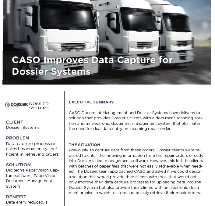 Dossier Systems Case Study