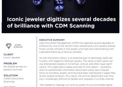 Iconic Jeweler Case Study