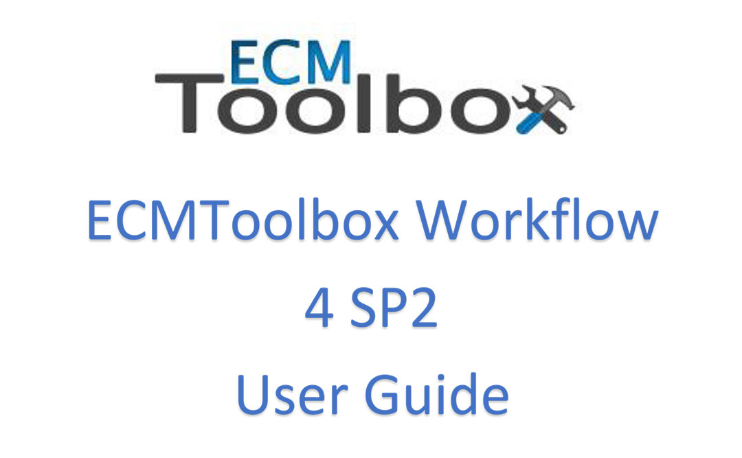ECM Toolbox User Guide V4 SP2