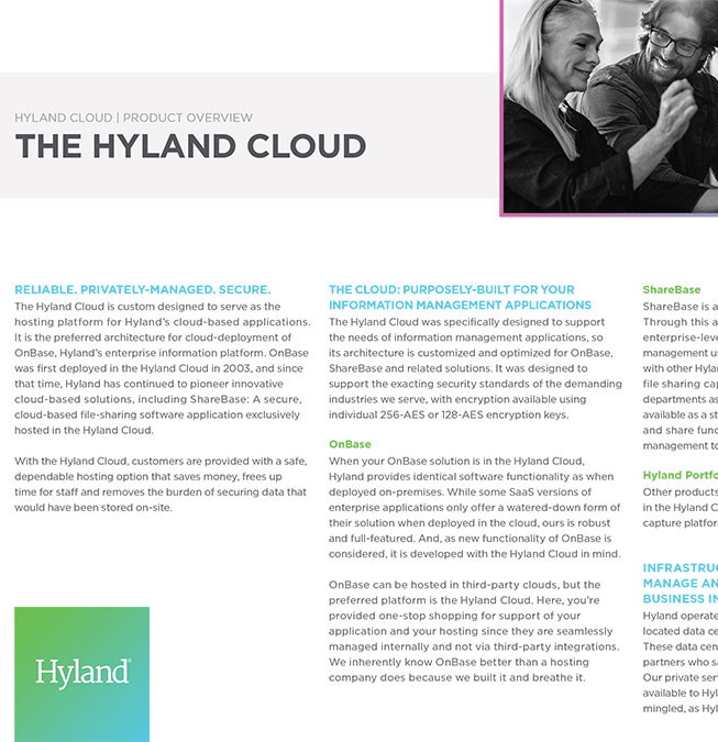 Hyland Cloud Overview