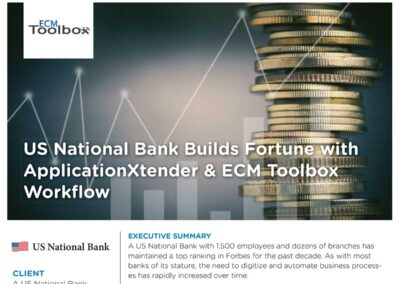 US National Bank Case Study