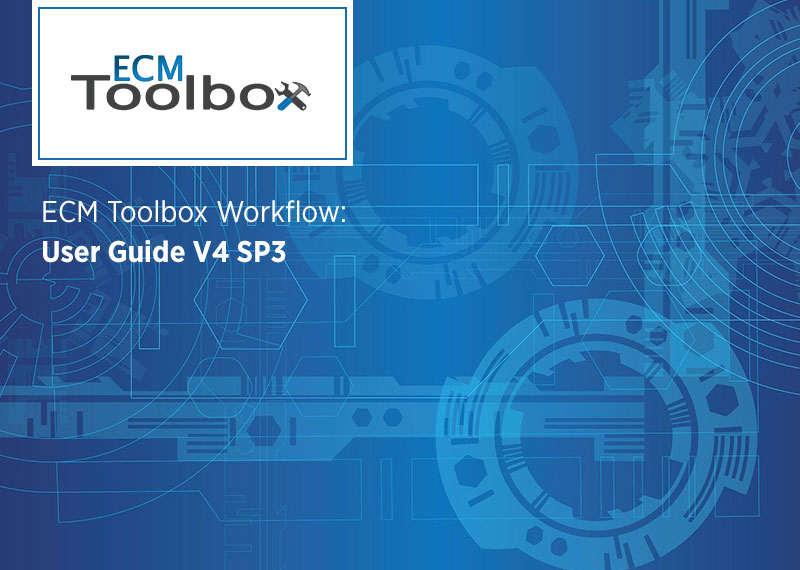 ECM Toolbox User Guide V4 SP3